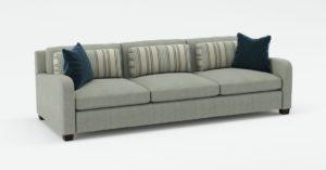 3 Seat Sofa with Pillows