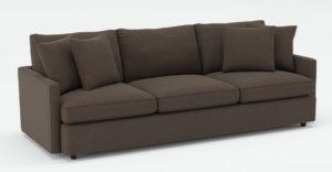 Lounge II Petite 3 Seat Grande Sofa Crate And Barrel