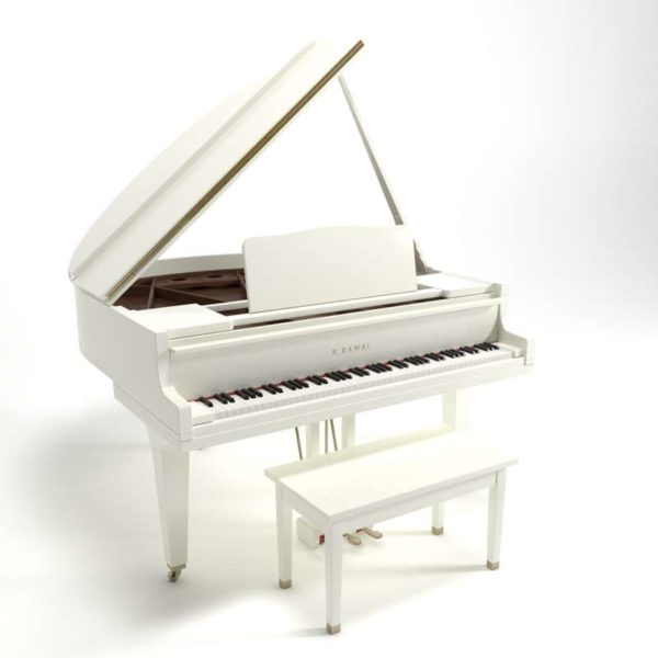 Model White Baby Grand Piano Kawai