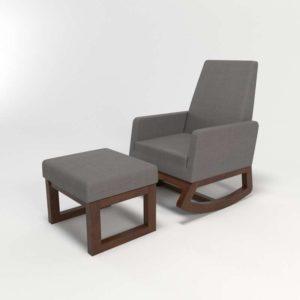 Nola Rocking Chair Ottoman Wayfair