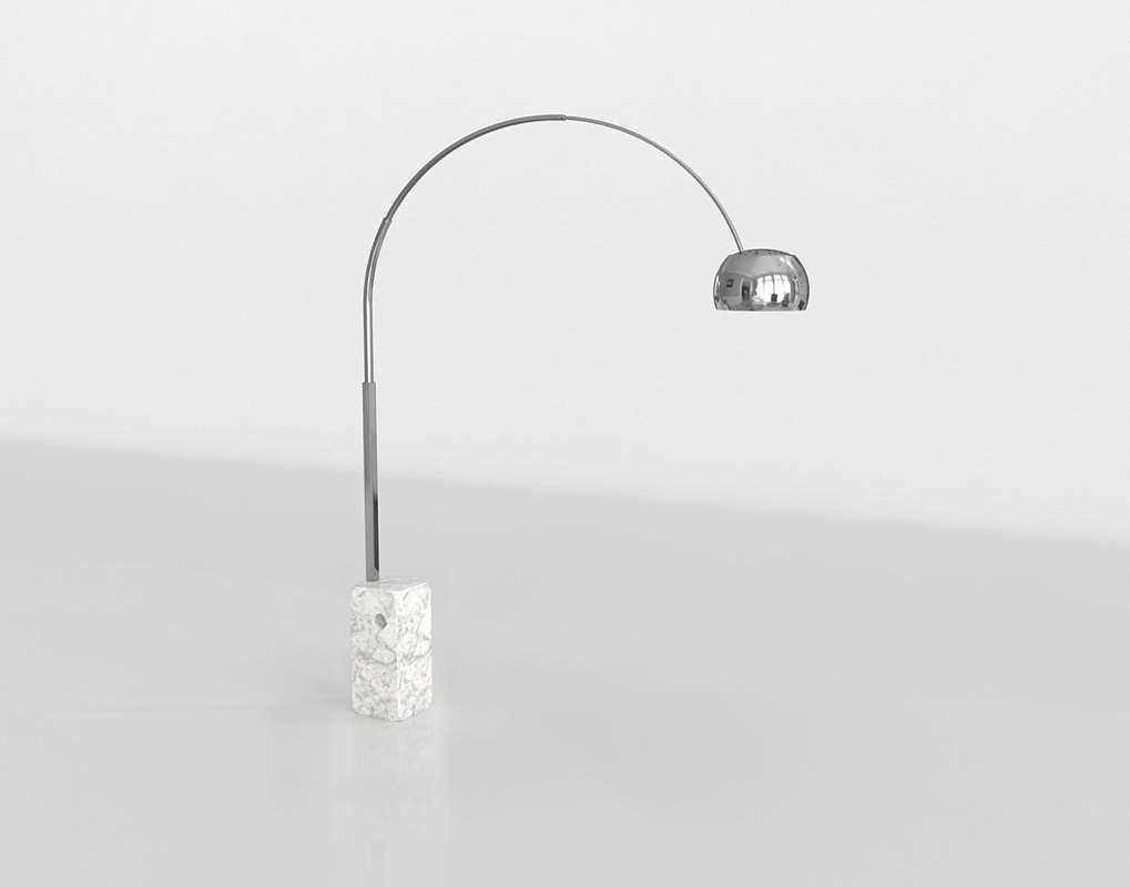 Arco Floor Lamp Heals Glancing Eye