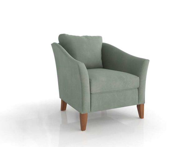 EthanAllen Gibson Chair Velvet