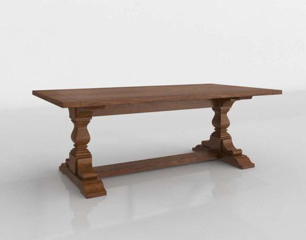 Stickley Ledyard Trestle Table
