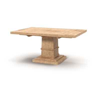 Orientexpressfurniture Hudson Rectangle Extension Dining Table