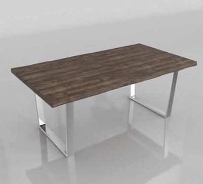 Overstock Furniture Of America Kelani Wood Metal Table