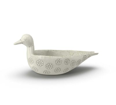 Birchlane Beaulah Terracotta Bird Decorative Bowl