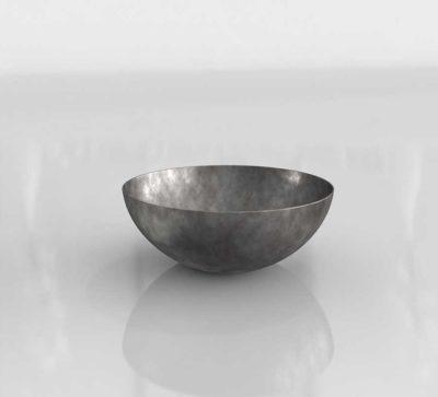 RH Hand Hammered Bowl