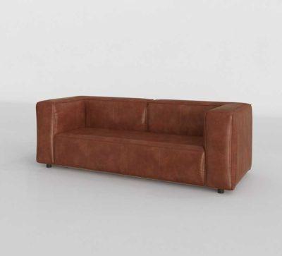 Joybird Logan Leather Sofa