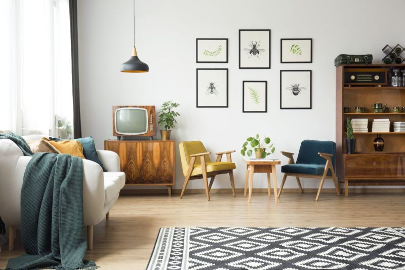 Diseño interior años 80