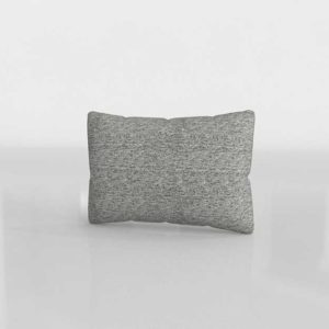 C&B 3D Trevino Nickel Pillow With Down Alternative Insert