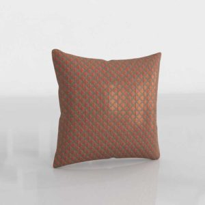 Dominic 3D Patterned Pillow With Feather Down Insert