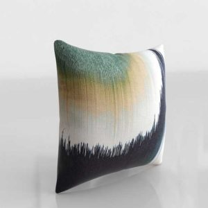 Westelm 3D Embroidered AbstractIkat Pillow Covers Midnight