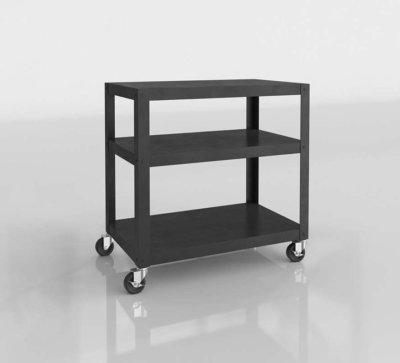 CB2 3D Bar Cart