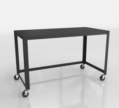 CB2 3D Rolling Desk
